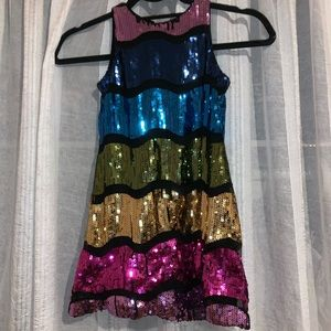 Pipa & Julie Sequin Dress